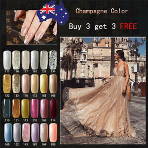 Anlabayle Gel Nails Soak Off UV LED Champagne Colour Series Nail Polish Lacquer