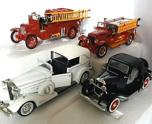SIGNATURE DIE-CAST MODEL VEHICLES boxed  - click Select to view INDIVIDUAL items
