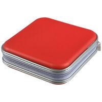 Colourful 40 PCS DVD/CD Disc Carry Holder Storage Case- randomly sent H5L8