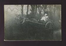 London KENSINGTON Slaters horse delivery cart c1900/10s? RP PPC