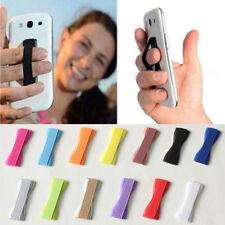 2xDedo de agarre elástico Selfie correa de teléfono del soporte Para Smartphone
