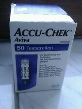 Accu Chek Aviva Teststreifen 50 Stück OVP
