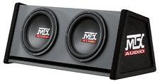 Caisson Reflex avec 2 Subwoofers MTX Audio RT12-04 500w