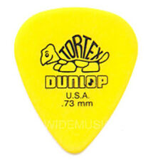 DUNLOP tortex guitar picks/médiators 0.73mm pack de 12