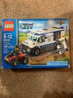 LEGO City 60043 Police Prisoner Transporter build set SEALED Box Damaged