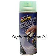 Plasti dip Vernice gomma spray Metalizer Metallizzato Verde 311gr. Tuning