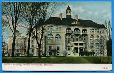 CPA Canada: Physics Building - Mc Gill University - MONTREAL / 1908
