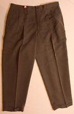 Mens CLAIBORNE Dark Green Dress Pants SIZE 38 30