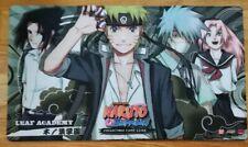 Naruto CCG TCG Playmat Leaf Academy (Naruto/Sasuke/Sakura/Kakashi) Bandai