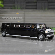 Diecast 1:32 Car Model Toy Hummer H2 Stretch Limousine Pull Back Replic With S&L