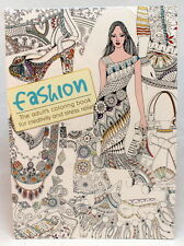 Oceanis Adult and Teen Coloring Book High Fashion Clothing Theme