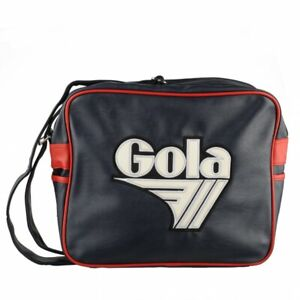 Gola Harnell Tasche Umhängetasche Messenger Bag CUB379ER0 rot blau Hipster