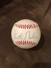 Kirk Gibson Autograph Baseball MLB Detroit Tigers Los Angeles Dodgers