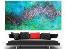 WEISE XXL Acrylbild ART Gemälde Abstrakt Modern 169 x 91 cm Leinwand 60/20 NEU