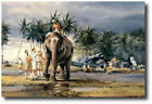 Puttalam Elephants by Robert Taylor - F4U Corsair - Aviation Art Print
