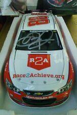 2013 DALE EARNHARDT JR #88 Autographed Race 2 achieve Nation Guard 1/24 DIECAST