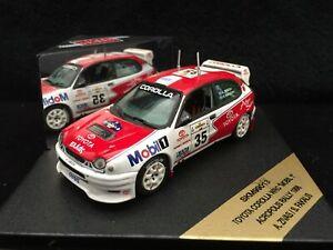 SKID 1/43 Toyota Corolla WRC 1998 Acropolis Rally A.Zivas/S.Fakalis