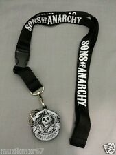 SDCC Comic Con 2014 EXCLUSIVE Sons of Anarchy Lanyard w USB clips of series