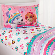Twin Paw Patrol Girl Pink Bed In Bag Kids Bedding Sheet Set 3pc Bright Colors