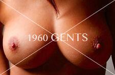 1990s NUDE 8X10 BUSTY BIG BREASTS BIG NIPPLES PHOTO FROM ORIGINAL NEG-3PB
