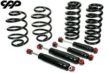 "63-72 CHEVY C10 TRUCK FRONT 3"" REAR 4"" LOWERED DROPPED COIL SPRINGS SHOCK KIT"