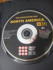 2007 2008 2009 2010 TOYOTA PRIUS TUNDRA LEXUS GX470 NAVIGATION DVD U34 VER 09.1