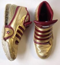 RARE 2009 NBA ALL-STAR Bounce Commander West - Men's Size 15 Burgundy & Gold