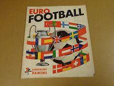 PANINI ALBUM NOT COMPLETE / EURO FOOTBALL 1976-77