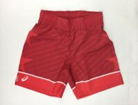 Asics Sublimated Wrestling Training Performance Short Men's Large Red A081A018