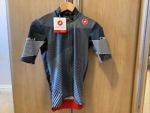 Castelli Mid Weight Short Sleeve Jersey Size Medium
