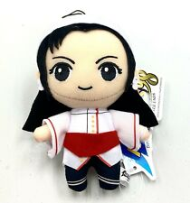 King of Fighters 98 Game Mascot Plush Charm Keychain Doll Kasumi Todoh Amu10396