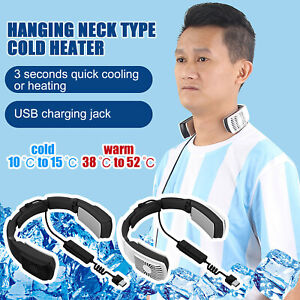 2 In 1 Portable Heating And Cooling Air Conditioner Wearable Neck Protectors