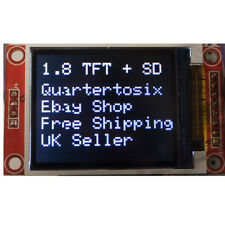 "1.8"" ST7735 SPI 128 x160 TFT LCD Display SPI Arduino Raspberry Pi UK Seller"