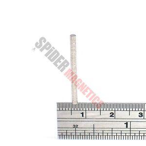 50 Tiny Magnets 2x0.5 mm N52 Neodymium small round craft magnet 2mm dia x 0.5mm