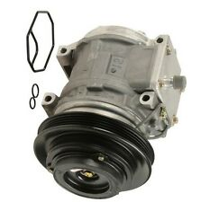 A/C Compressor with 4 Poly Clutch fits Kia Sportage Fits Honda Civic Aftermarket
