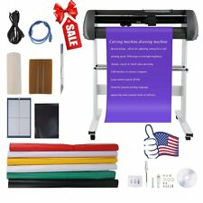 "34"" Vinyl Cutter Sign Cutting Plotter Printer Sticker Craft Decal Making Kit SG"