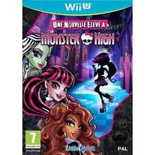 Une nouvelle élève à Monster High - Wii-U neuf sous blister VF