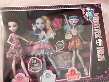 Rare New Dot Dead Gorgeous Draculaura Abbey Ghoulia Monster High Dolls Exclusive