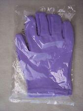 AVON Hand Moisturizing Lining Night Spa Pair of Gloves Cotton Lycra Purple NEW