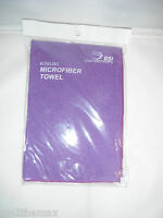 2 New BSI Micro Fiber Bowling Towel Purple $9.65  Made for bowling oil !FS usa !