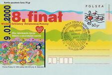 Poland postmark LODZ - VIII final WOSP (analogous)