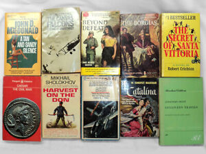 Paperback Book Lot - 20 Books - Various Genres - Free Shipping