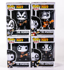 FUNKO POP Kiss The Demon Spaceman Starchild Catman Action Figure Da Collezione