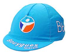 Team Bourygues Telecom Euro Race Light Blue Cycling Cap OSFM