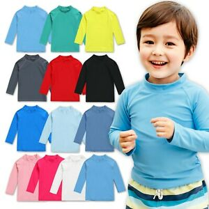 Vaenait baby 2T-7T Boys & Girls UPF 50+ Short/Long Sleeve Rashguard Swim Shirt