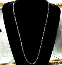 Vintage Sterling silver chain, necklace .