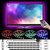 LED Strip Lights,40 to 60in TV USB Lights 6.56ft 5050 RGB LED Light Strip Color