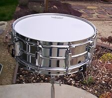 Ludwig 1968 Supraphonic Snare Drum-Internal Microphone & 3 New Drumheads