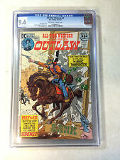 ALL STAR WESTERN #8 CGC 9.6 GIL KANE MAGIC THUNDERSTICK OUTLAW BILLY THE KID