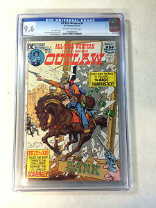 ALL STAR WESTERN #8 CGC 9.6 GIL KANE, MAGIC THUNDERSTICK, OUTLAW, BILLY THE KID